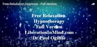 Relaxation hypnosis